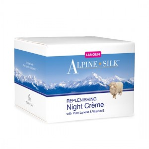 Alpine Silk Replenishing Night Creme 100g