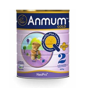 【新西兰直邮】Anmum 安满婴儿奶粉2段(6~12个月)6罐包邮