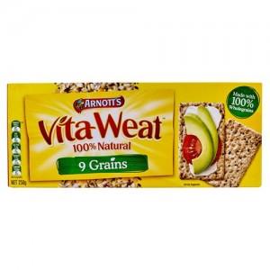 Arnotts 100%谷物 含9种谷物饼干 250g