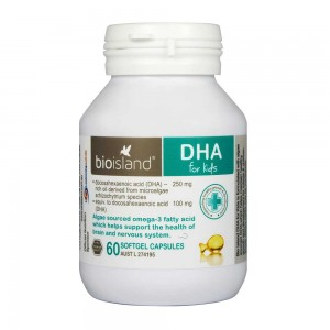 Bioisland DHA for Kids DHA 60 caps