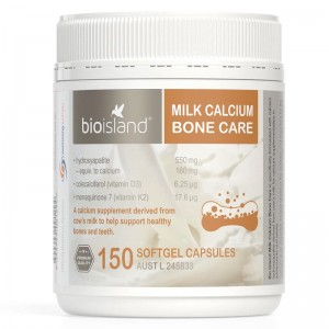 Bioisland Milk Calcium Bone Care 150 caps