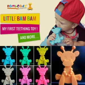Bambeado Baby Silicone Little BamBam Teething Toy