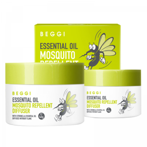 Beggi Essential Oil Mosquito Repellent Diffuser 40g