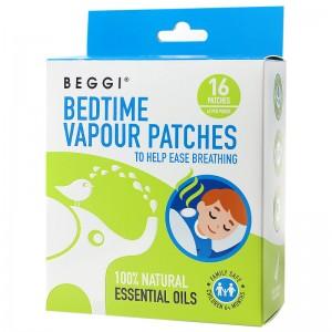 BEGGI bedtime Vapour Patches 16 pcs