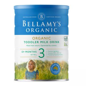 【澳洲直邮】Bellamys 有机贝拉米奶粉3段 12个月以上 6罐包邮 需要提供身份证号码 2021-03