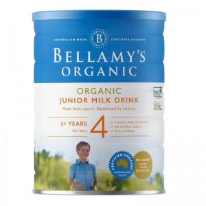 【澳洲直邮】Bellamys 有机贝拉米奶粉4段 3岁以上 6罐包邮 需要提供身份证号码 2021-01