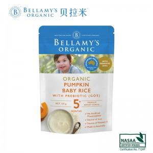 Bellamys 贝拉米有机婴儿燕麦高铁米粉米糊 5  125g