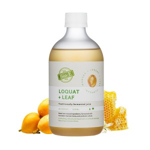 Bio-E Loquat Leaf Manuka Juice 500ml