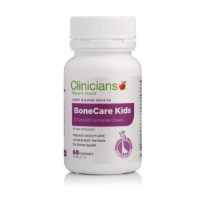 Clinicians Bonecare Kids Calcium Chews 60 Tablets