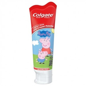 Colgate Peppa Pig Kids Toothpaste 130g - Mild Bubble Fruit