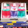 【包邮】Contigo康迪克 儿童吸管杯防漏运动水杯随手杯414ML 3只装女款