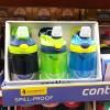 【包邮】Contigo康迪克 儿童吸管杯防漏运动水杯随手杯414ML 3只装男款