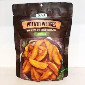 DJ&A Potato Wedges Original 120g