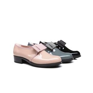 【澳洲直邮】EVER UGG Connie 11848 春夏新款黑底漆皮蝴蝶结女士小皮鞋