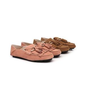 【新西兰/澳洲直邮】EVER UGG 11895 Sussie Moccasin春夏新款 金属装饰流苏立体厚底 踩跟 豆豆鞋