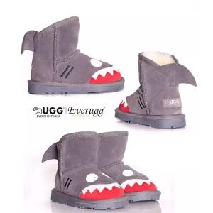 【澳洲直邮】EVER 11539 儿童鲨鱼款雪地靴 SHARK