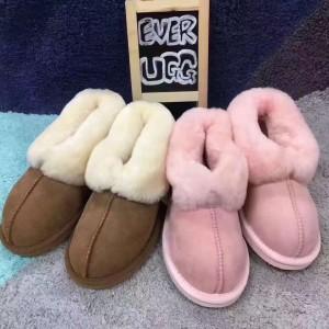 【澳洲直邮】EVER 11612 皮毛一体 包跟拖鞋