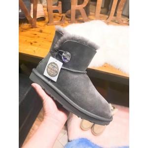 【澳洲直邮】EVER UGG 11751 澳产Mini Button Crystal 迷你施华洛世奇水晶扣雪地靴