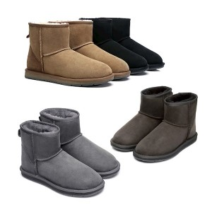 【澳洲直邮】AS UGG 15701 mini classic新版防水迷你经典靴 皮毛一体雪地靴