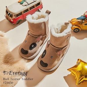 【澳洲直邮】EVER UGG BULL TERRIER TODDLER 21436 3D动物小童学步鞋牛头梗