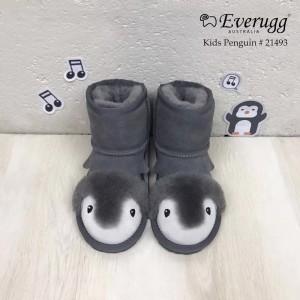 【澳洲直邮】EVER UGG Penguin 21493 灰色小企鹅儿童雪地靴