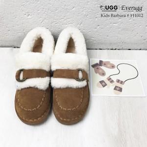 【澳洲直邮】EVER UGG Barbara 111012 儿童卷毛豆豆鞋
