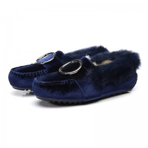 【新西兰/澳洲直邮】EVER UGG Buckle C 11660天鹅绒防水毛豆豆鞋(需要填写身份证号)