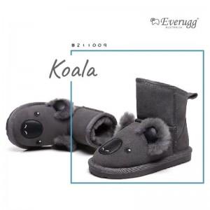 【澳洲直邮】EVER UGG Koala 211009 灰色考拉儿童雪地靴