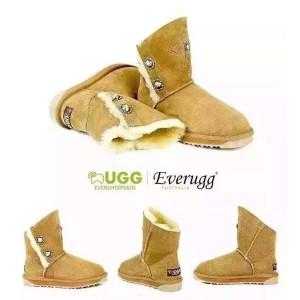 【澳洲直邮】EVER UGG Mary 11808斜口瘦腿雪地靴