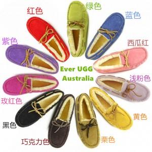 【澳洲直邮】EVER UGG Moccasin 11613 女款防泼水豆豆鞋