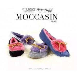 【澳洲直邮】EVER UGG Fluffy 11654翻毛豆豆鞋