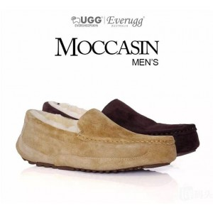【新西兰/澳洲直邮】 EVER UGG 11657Men Winter Moccasin男士冬款皮毛一体毛豆豆鞋