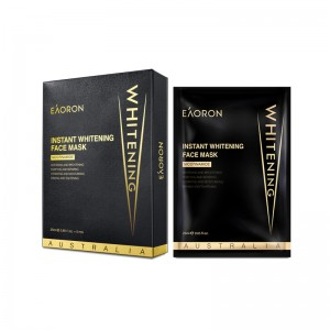 Eaoron Instant Whitening Face Black Mask 5x25g