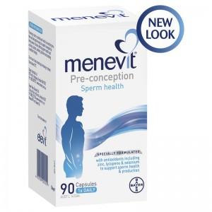 Menevit Male Fertility Supplement 90 Caps