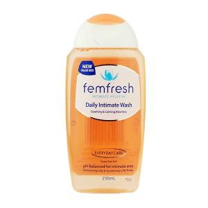 Femfresh女性洗液 护理液 250毫升 透明瓶