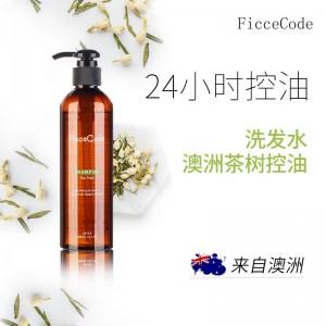 FicceCode 菲诗蔻 茶树 控油 洗发水 无硅油 孕妇可用 260ml