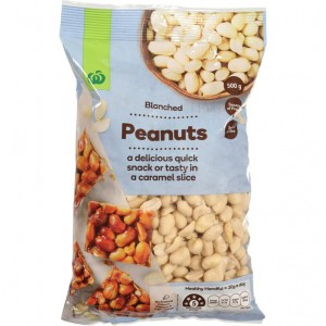 Countdown Peanuts Blanched 500g