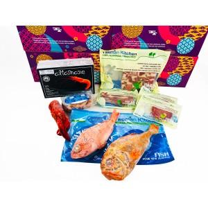 塔斯曼牛羊肉+海鲜豪华大礼盒 赠刀叉两副