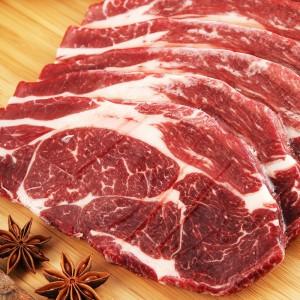 塔斯曼澳洲谷饲上脑牛排2kg 2片/袋 * 4袋 250g/片
