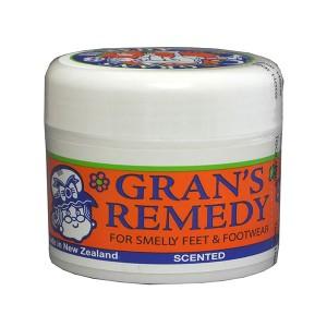 GRANS REMEDY 臭脚粉50g 香味 去脚臭 脚汗