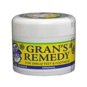 GRANS REMEDY 臭脚粉50g 原味 去脚臭 脚汗
