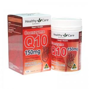 Healthy Care 辅酶Q10软胶囊150mg 100粒 安心宝保护心脏
