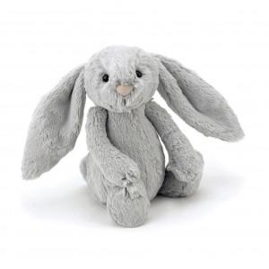 Jellycat Bashful Silver Bunny Small 18cm