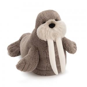 Jellycat 毛绒玩具 海象  46CM (willie walrus)