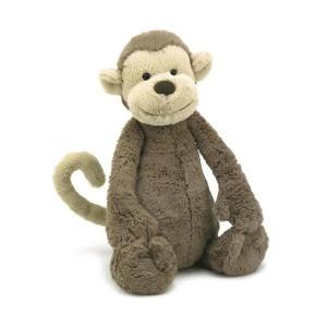 Jellycat 毛绒玩具 猴子 大号 36CM  Big Monkey