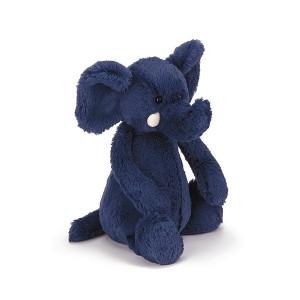 Jellycat 毛绒玩具 大象 中号 31CM Blue Elephant