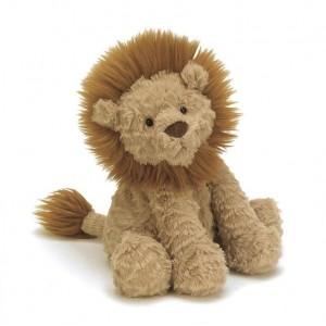 Jellycat 毛绒玩具 乱毛狮子 中号 23CM (Fuddlewuddle Lion)