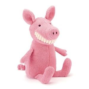 Jellycat 毛绒玩具 呲牙小猪 大号 36CM Toothy Pig