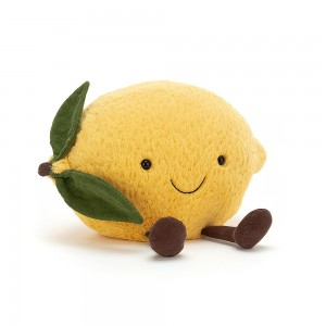 Jellycat 毛绒柠檬抱枕  (Amuseable)