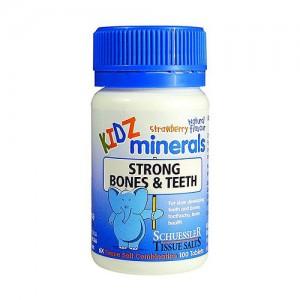 KIDZ minerals 婴儿矿物质补钙钙片 100片